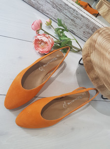balerinki sandałki TAMARIS 1-29406/24 orange
